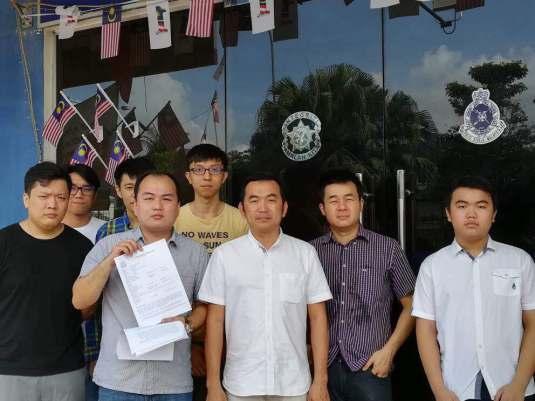 照片左起:黄祖权,庄凯伦,叶永裕,郑英杰